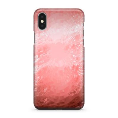 Чехол для iPhone X Красная вода