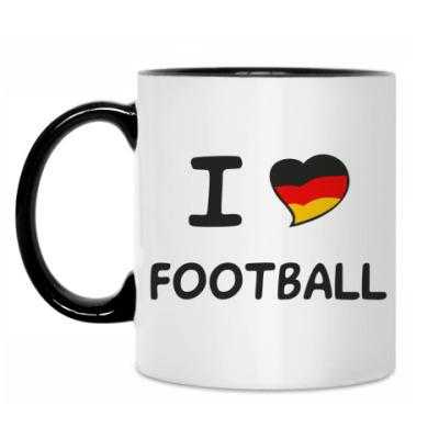 Кружка Я люблю немецкий футбол
