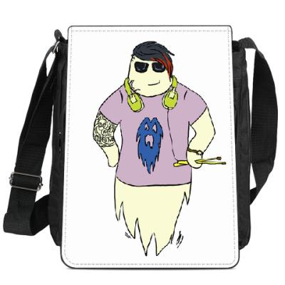Сумка-планшет Призрак барабанщик