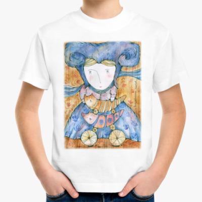 Детская футболка Волшебница Котов
