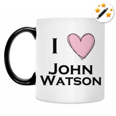Кружка-хамелеон I <3 John Watson