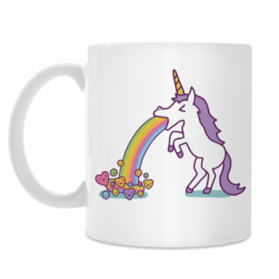 Кружка Vomiting Unicorn