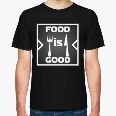 Футболка Food is good