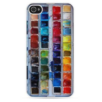 Чехол для iPhone Краски