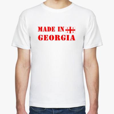 Футболка Made in Georgia