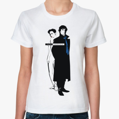 Классическая футболка IreneSherlock