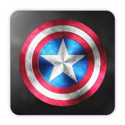 Костер (подставка под кружку) Captain America