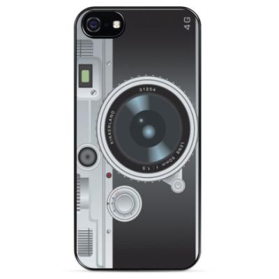 Чехол для iPhone Фотоаппарат KIKKERLAND