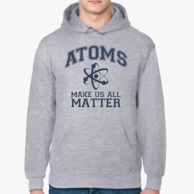 Толстовка худи Atoms make us all matter