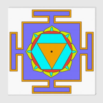 Холст Бала-Шакти-янтра