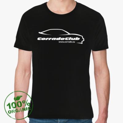 Футболка из органик-хлопка Футболка Corrado Club из органик-хлопка (черная)