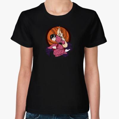 Женская футболка Шибари S-shape