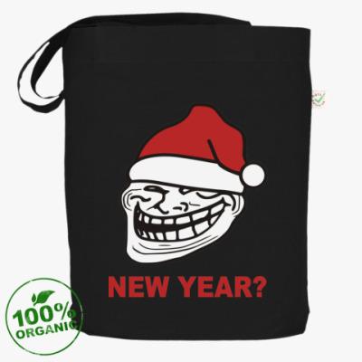 Сумка Новогодний Trollface