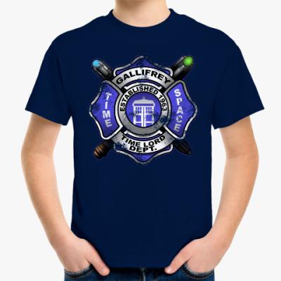 Детская футболка Галлифрей