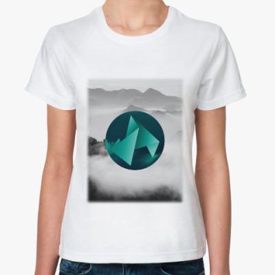 Классическая футболка Mountains