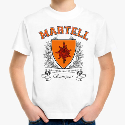 Детская футболка House Martell