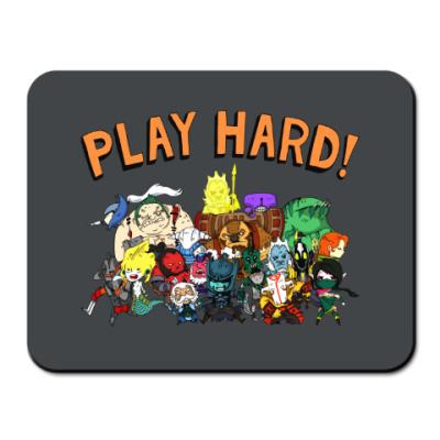 Коврик для мыши Play Hard!