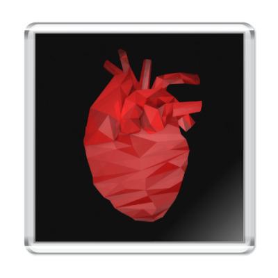 Магнит Сердце 3D
