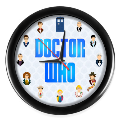 Настенные часы Одиннадцать Докторов