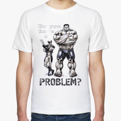 Футболка Рroblem? MARVEL