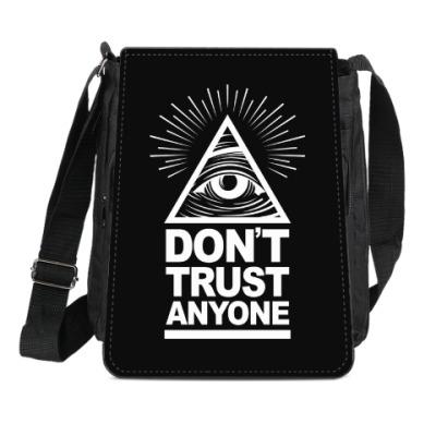 Сумка-планшет Don't Trust Anyone