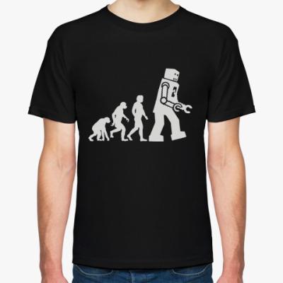 Футболка 'Robot Evolution'