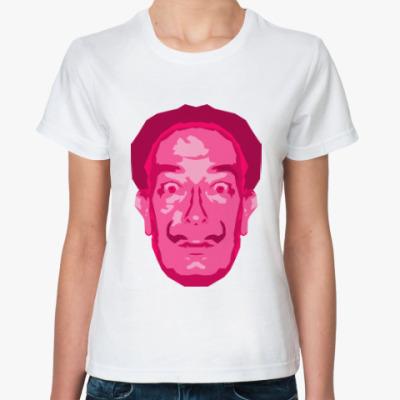 Классическая футболка Сальвадор Дали