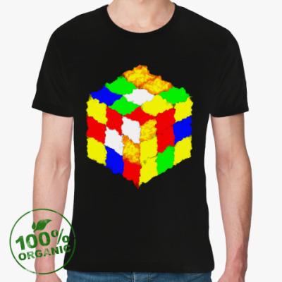 Футболка из органик-хлопка Кубик Рубика