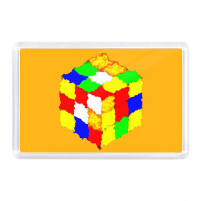 Магнит Кубик Рубика