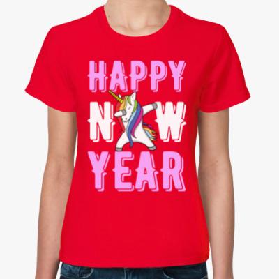 Женская футболка HAPPY NEW YEAR