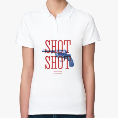 Женская рубашка поло Оружие СССР