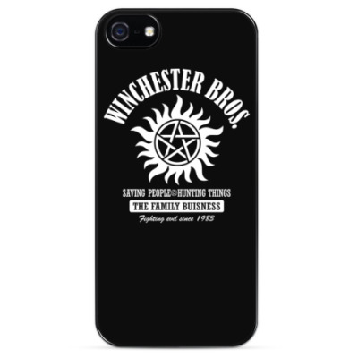 Чехол для iPhone Winchester Brothers