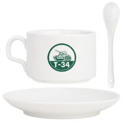 Кофейный набор Танк Т-34