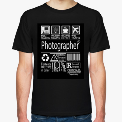 Футболка Photographer Multitasking