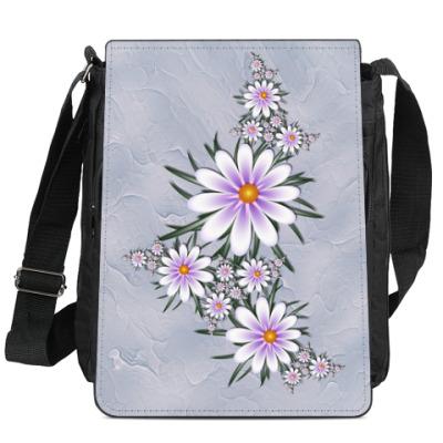 Сумка-планшет Нежные цветы
