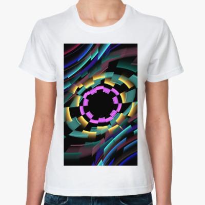 Классическая футболка Тоннель