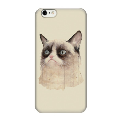 Чехол для iPhone 6/6s Grumpy Cat / Сердитый Кот