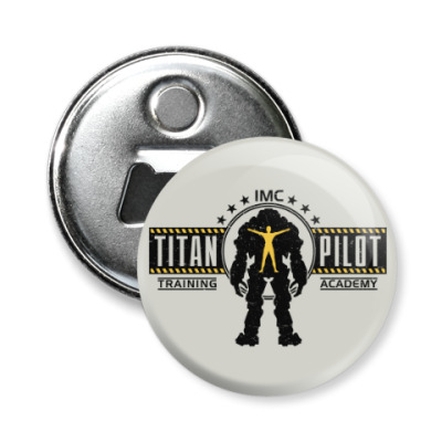 Магнит-открывашка Battlefield Titan Pilot
