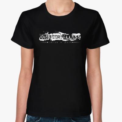 Женская футболка ОВА снова в деле