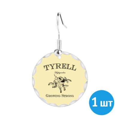 Серьги Tyrell