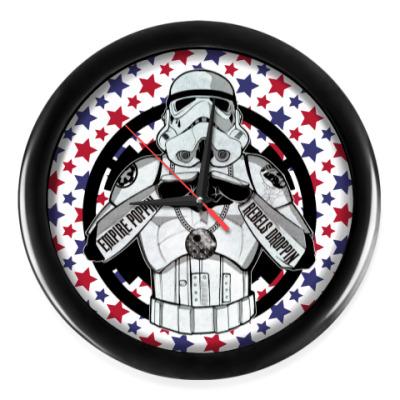 Настенные часы Cool Stormtrooper