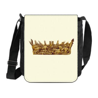 Сумка на плечо (мини-планшет) Игра Престолов: Корона