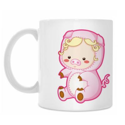 Кружка Pig Baby
