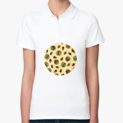 Женская рубашка поло Дары природы