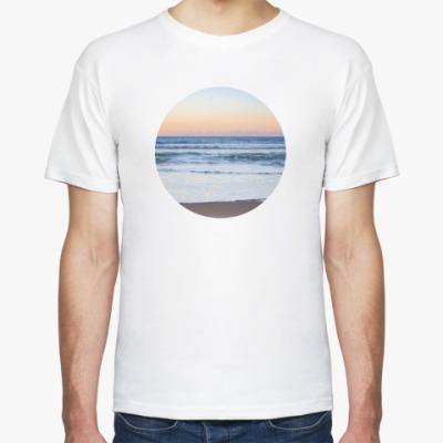 Футболка Закат Море