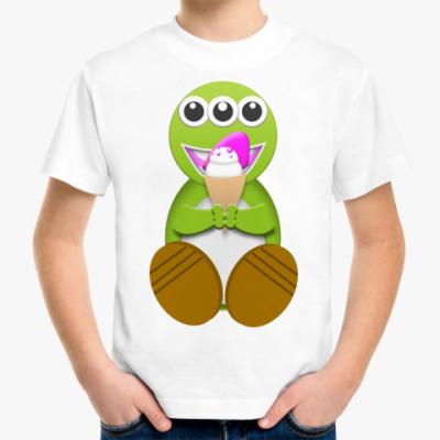 Детская футболка Monstre