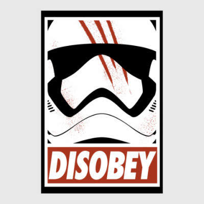 Постер Star Wars: Disobey