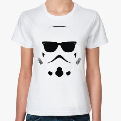 Классическая футболка Штурмовик в очках