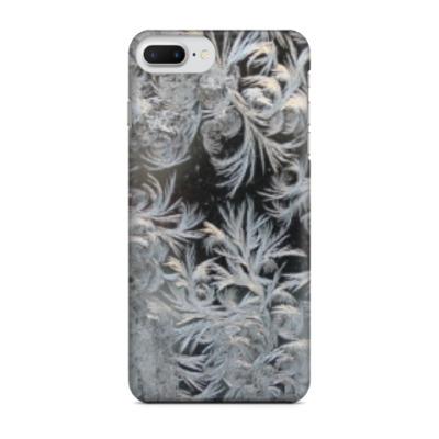 Чехол для iPhone 7 Plus морозный узор