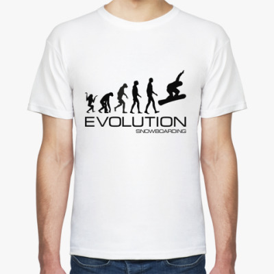 Футболка Evolution snowboarding